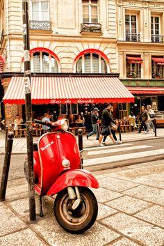 Rue du Buci, Paris VI I love Vespas (without looking too closely I'm not Tenerife, Paris France, Tour Eiffel, Image Paris, Little Paris, I Love Paris, Paris Street, Paris Travel, Viajes