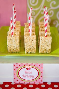 Strawberry Shortcake Themed 1st Birthday Party with Such Cute Ideas via Kara's Party Ideas | KarasPartyIdeas.com #strawberryshortcakecake #berrybash #girlyparty #partyideas (12)