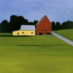 Maine Barns by Jean Jack | Jean Jack Paintings | Pinterest