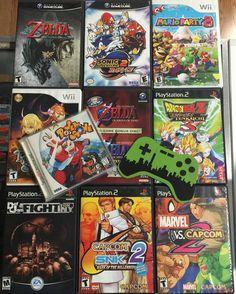 On instagram by gothamcitygames #dreamcast #microhobbit (o) http://ift.tt/2e2pVpJ heavy trades from our friend Kevin!  #Wii #gamer #games #gaming #videogames #videogamestore #videogameaddict #gamecube #legendofzelda #loz #twilightprincess  #Nintendo  #playstation #ps2 #dragonballz #capcom #retro #retroshop #retrogaming #retrogames #retrocollective #retrocollectiveus