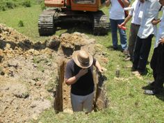 Digging a big hole for myself in Asia Cowboy Hats, Asia, Travel, Voyage, Viajes, Traveling, Trips, Tourism
