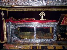 Incorruptible Body of St. Gerasimos of Kefalonia: The body of Saint Gerasimos is guarded and protected in a glass casement at the monastery as it has never decomposed. After his death, his body was buried twice and exhumed intact, thus leading the church to ordain him as a saint. Kefalonians throughout the world still revere and pray to him. In 1953, immediately after a powerful earthquake on the island of Kefalonia destroyed 90% of the island, there were many claimed sightings of Saint…