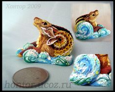 This guy is amazing! Russian Polymer Clay Artist..