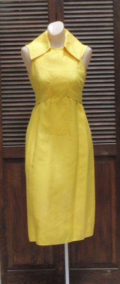 Geoffrey Beene Dress Vintage Designer Stunning by ReoccuringDreams