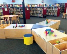 These innovative public library destinations for young children and their caregivers are places for reading, romping, and learning. Library Furniture, Learning Spaces, Early Learning, Innovation, Content, Play, Children, Young Children, Boys