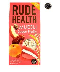 Muesli-Super Fruity Website