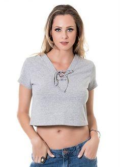 Mais um look lindo!   BLUSA CROPPED MESCLA MISS MASY de 4990 <3 QUER MAIS DESCONTO ? CLIQUE AQUI!  http://imaginariodamulher.com.br/look/?go=2jZT1ZO