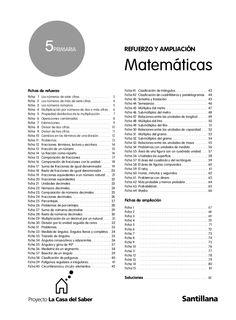 REFUERZO Y AMPLIACION MATES 5º