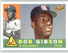 2005 Topps All-Time Fan Favorites #39 Bob Gibson - St. Louis Cardinals (Baseball Cards) by Topps All-Time Fan Favorites. $1.54. 2005 Topps All-Time Fan Favorites #39 Bob Gibson - St. Louis Cardinals (Baseball Cards)
