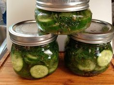 The Gastronomic Mommy: The BEST Dill Pickles
