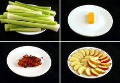 Série mostra o que são 200 calorias em vários tipos de comidas