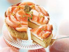 ももの果肉たっぷりパブロから白桃とヨーグルトクリームのチーズタルト新発売
