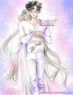 serenity and endymion  - You never are alone by zelldinchit.deviantart.com on @DeviantArt
