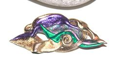 Vintage 1980s Abstract Bold Colorful Brooch by AntiqueAlchemyShop, $6.00
