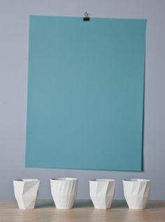 Stratigraphic Cups, photo Kristof Vrancken
