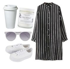 """""""NY"""" by mode-222 ❤ liked on Polyvore featuring Chicnova Fashion, Prism, Herbivore and Topshop"""