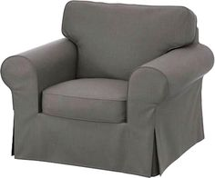 Amazon.com: The Heavy Linen Ektorp Chair Cover Replacement is Custom Made For Ektorp Armchair Cover, A One Seat Sofa Slipcover Replacement (Thicker Heavier Linen): Home & Kitchen