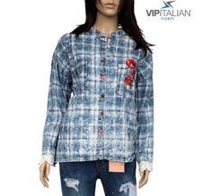 Luxurious shirts with ❤️ poppy detailing are a must-have for your 🚪 wardrobe.  🛒  #vipitalianfashion #fashion #madeinitaly #modaitaliana #clothing Italian Fashion, Poppy, Must Haves, Denim, Clothing, Jackets, Shirts, Italian Style Fashion, Outfit