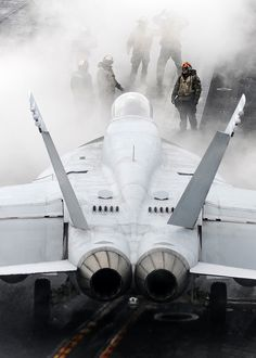 F-18 Hornet on an aircraft carrier, use this when you're in a hurry, lol