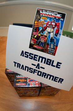 Transformers Birthday Party Ideas | Photo 17 of 17 | Catch My Party