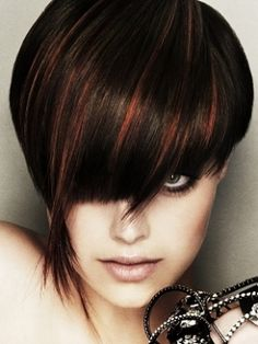 Stylish Hair Highlights Ideas for Brunette Hair - Hair color plays a very important role when it comes to beauty and style, so take a peek at the following hair highlights ideas for brunette hair as they can transform your look in an instant!