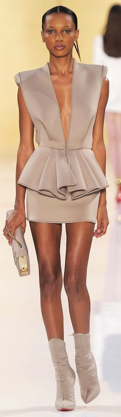 #Alexandre Vautier Haute Couture FW 2013  Short but wonderful! How long are her legs??
