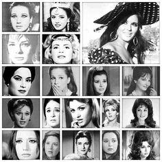 Definition of TRUE beauty and elegance Arab Actress, Egyptian Actress, Egyptian Beauty, Beautiful People, Beautiful Women, Modern History, Classic Beauty, True Beauty, Old World