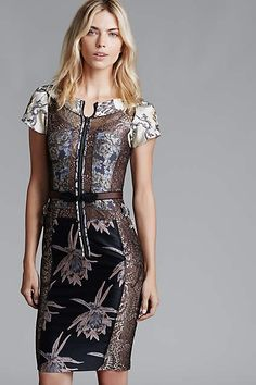 when i want to look sophisticated yet sexy. i love the juxtaposition of the different prints and the placement