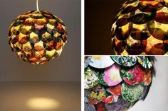 For the most creative. Recycle your paper and create awesome decorative lamps