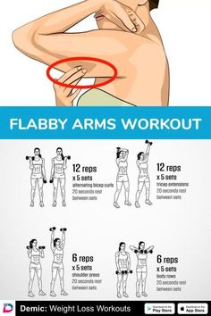 Flabby Arms Workout Gesundheit Fitness Workout Übung Motivation Arme 693835886326 … – Fitness And Exercises Workout Diet Plan, Gym Workout Tips, Body Workout At Home, At Home Workout Plan, Easy Workouts, Tricep Workout Women, Arm Workout Women With Weights, Arm Exercises Women, Arm Fat Exercises
