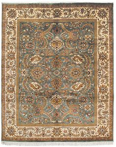 traditional+rugs+for+sale | ... Traditional Large Rectangular Rug in Green, Ivory - DY244B on sale