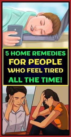 5 HOME REMEDIES FOR PEOPLE WHO FEEL TIRED ALL THE TIME! Natural Home Remedies, Natural Healing, Herbal Remedies, Health Remedies, Holistic Healing, Holistic Wellness, Wellness Tips, Cold Remedies, Holistic Remedies
