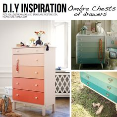 Ombre chests