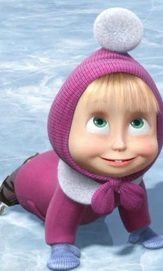 Screenshots Masha and the Bear HD theme