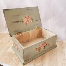 Shabby Chic Decor, Decorative Boxes, Crystal, Google, Home Decor, Boxes, Hand Crafts, Amor, Wood Boxes