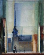 Lyonel Feininger, Gelmeroda IX, 1926 Oil on canvas, 100 x 80 cm