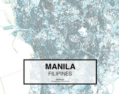 Manila - Philipines. Download CAD Map city in dwg ready to use in Autocad. www.mapacad.com