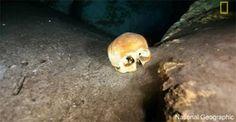 Elongated skulls found in Maya underwater cave