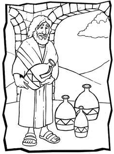 30 Best Jesue Turns Water Into Wine Images Sunday School