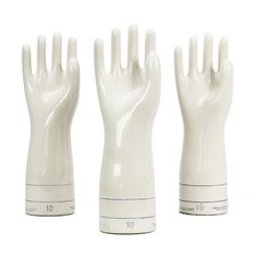 Industrial Porcelain Glove Mold, $56, now featured on Fab.
