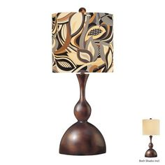 Special Offers - Ambience AM 10853 1 Light 34 Height Table Lamp with Multi-Colored Shade Multicolor - In stock & Free Shipping. You can save more money! Check It (August 18 2016 at 01:01AM) >> http://tablelampusa.net/ambience-am-10853-1-light-34-height-table-lamp-with-multi-colored-shade-multicolor/
