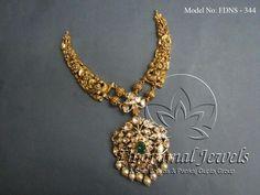 The Organic Gardening Gold Jewellery Design, Gold Jewelry, Jewelery, Handmade Jewellery, Antique Jewelry, Latest Necklace Design, Necklace Designs, Indian Wedding Jewelry, Bridal Jewelry