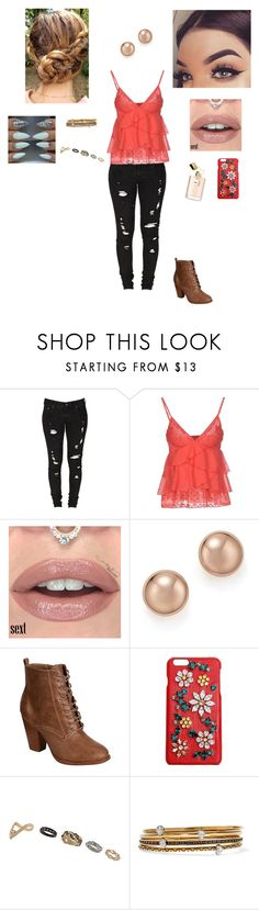 """Shout Out to my Ex"" by steph-fowlie ❤ liked on Polyvore featuring Levi's, Gotha, Bloomingdale's, Breckelle's, Dolce&Gabbana, Topshop and Alexander McQueen"