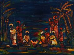 View African Figures under Palm Trees by Walter Whall Battiss on artnet. Browse upcoming and past auction lots by Walter Whall Battiss. Walter Battiss, Palm Trees, Past, Projects To Try, Auction, African, Artist, Painting, Past Tense