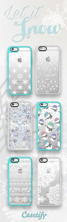Let it snow, let it snow, let is snow. Shop our frosty designs ($40) for this winter here: http://www.casetify.com/artworks/3U8FgdKDHQ
