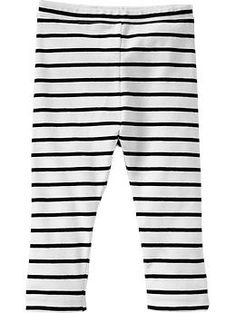 Jersey Leggings for Baby | Old Navy - Any of these to finish out the dresses as outfits to keep little knees warm.