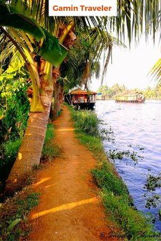A house boat in the glistening back waters of Alleppey in Kerala, India.