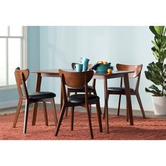 Found it at AllModern - Baxton Studio Sumner 5 Piece Dining Set