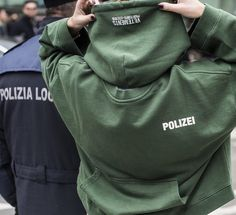 And @vetements_official keep turning things around... #vetements #polizei #hoodie by attire.life