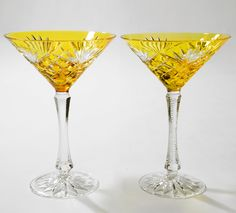 Beautiful Martini glasses